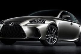 2017 Lexus LS 250 F Sport Review