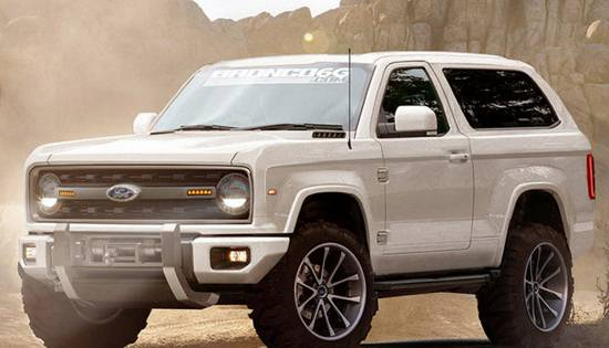 2019 Ford Bronco Rendered