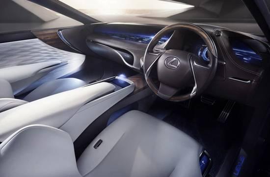 2018 Lexus LS 460 F Sport Interior