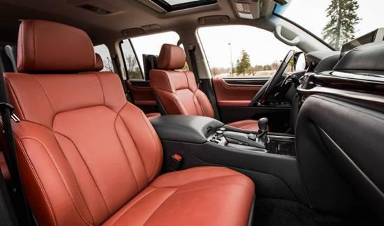 2018 Lexus LX 570 Interior