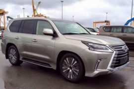2017 Lexus GX 460 Spy Photos