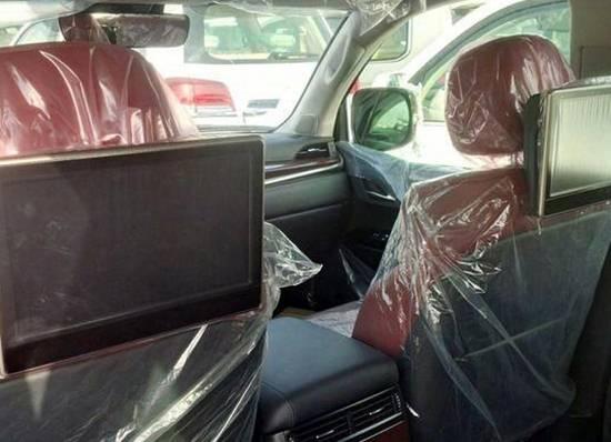 2017 Lexus GX Interior