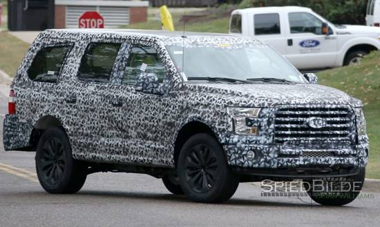 2018 Ford Expedition Platinum Redesign