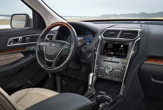 2018 Ford Explorer Interior