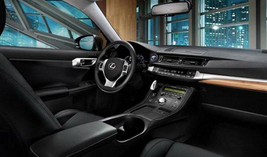2018 Lexus CT 200h Interior