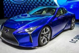 2018 Lexus LC 500h Coupe Release Date and Price