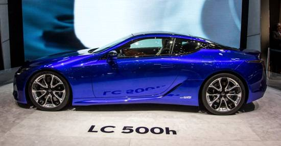 2018 Lexus LC 500h Coupe