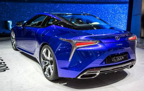 2018 Lexus LC 500h Coupe | Reviews, Specs, Interior ...