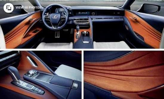 Lexus Lc 500 Interior >> 2018 Lexus LC 500h Coupe | Reviews, Specs, Interior, Release Date and Prices