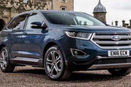 2018 Ford Edge Sport Refresh