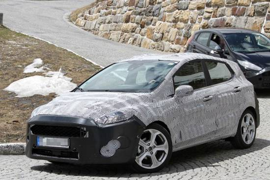 2018 Ford Fiesta Spy Shots