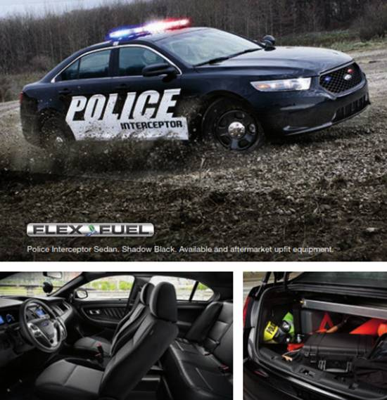 2018 Ford Police Interceptor Sedan