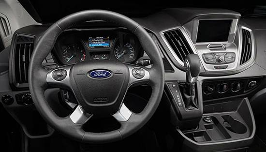 2018 Ford Transit Interior