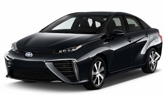 2018 Toyota Mirai Hydrogen Fuel Cell Car