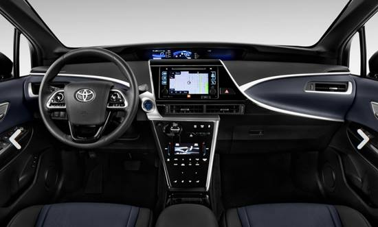 2018 toyota mirai hydrogen fuel cell car reviews specs interior release date and prices. Black Bedroom Furniture Sets. Home Design Ideas