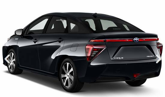 2018 Toyota Mirai Hydrogen Fuel Cell Car | Reviews, Specs ...