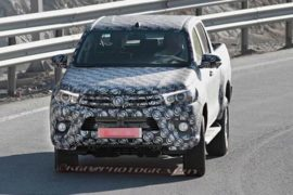 2018 Toyota Tundra Spy Photos
