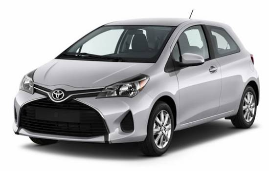 2018 Toyota Yaris Colors