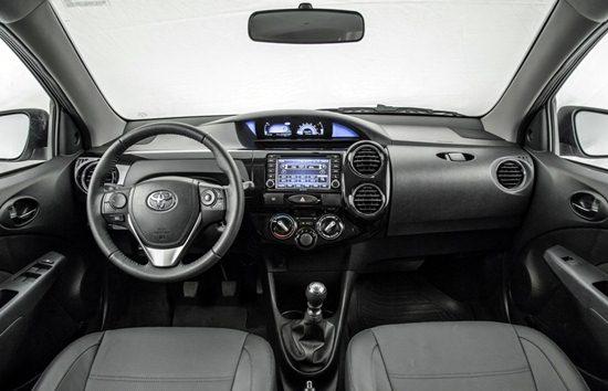 2017 Toyota Etios Interior