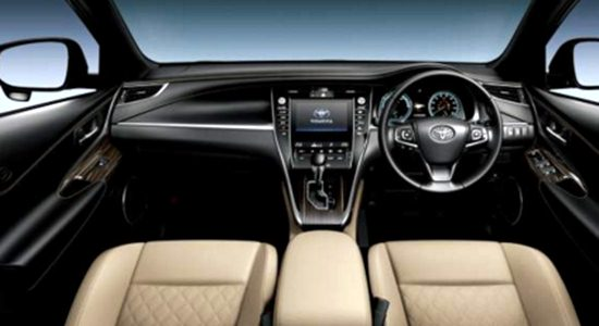 2017 Toyota Harrier Interior