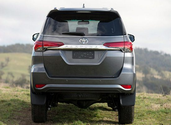 2018 Toyota Fortuner interior and Exterior Colors