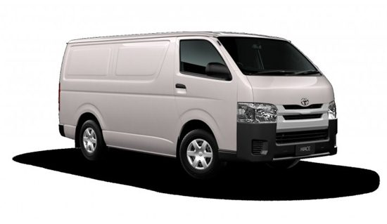 2018 Toyota Hiace Bus Commuter