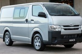 2018 Toyota Hiace Van Rumors