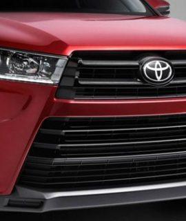2018 Toyota Kluger Facelift