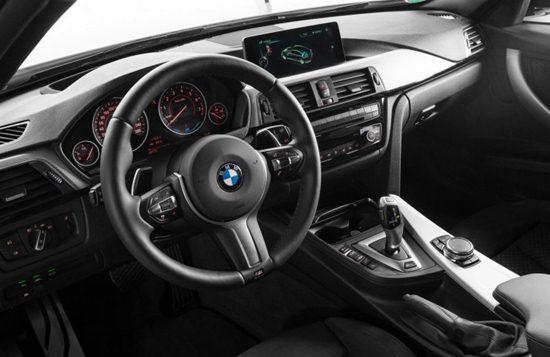 2017 BMW 330e Interior