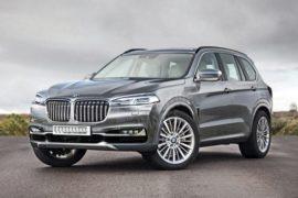 2018 BMW X7 SUV Rendering