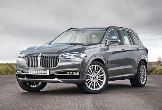 2018 bmw x7 suv rendering reviews specs interior release date and prices. Black Bedroom Furniture Sets. Home Design Ideas