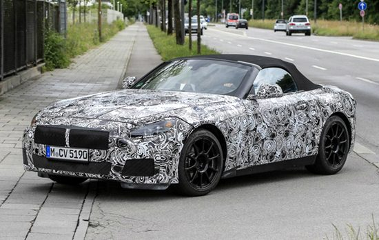 2018 BMW Z4 Roadster Redesign
