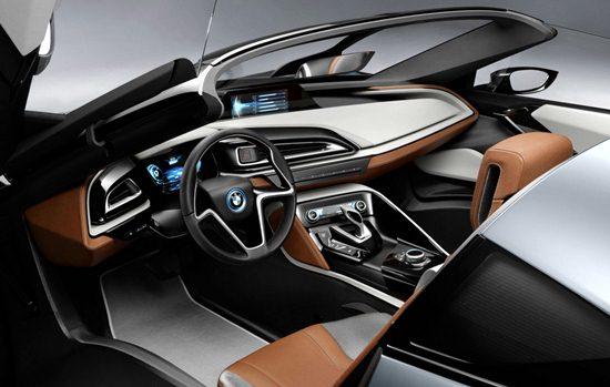 2018 BMW i8 Interior