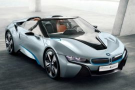 2018 BMW i8 Spyder Concept