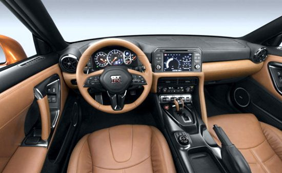 2018 Nissan Skyline Interior