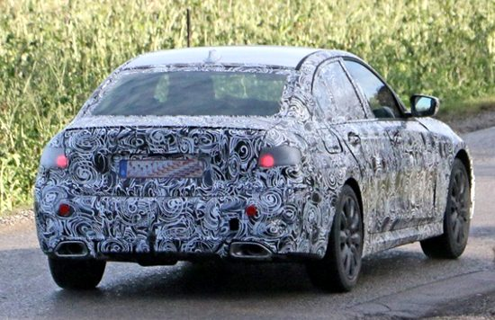 2019 BMW 3 Spy Shot