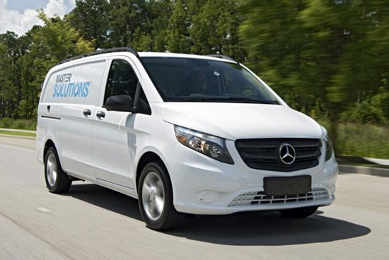 2017 Mercedes Metris Changes