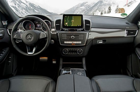 2018 Mercedes-Benz GLS 550 Interior