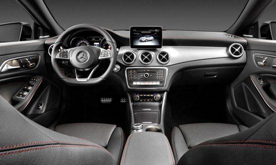 2018 Mercedes CLA 250 Interior