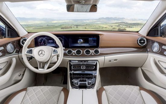 2018 Mercedes E400 Wagon Interior