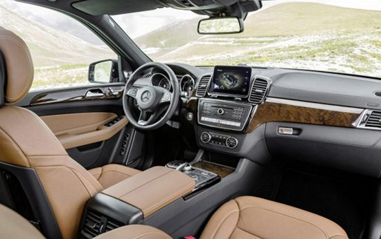 2018 Mercedes GL450 Interior