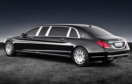 2018 Mercedes Maybach S600 Pullman