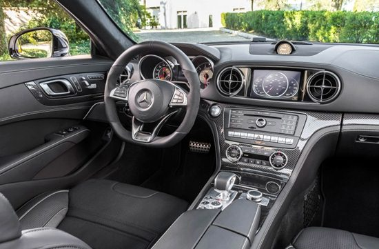 2018 Mercedes SL550 Interior
