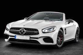 2018 Mercedes SL550 Review