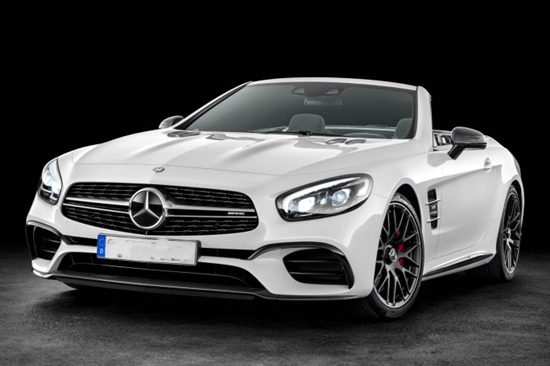 2018 Mercedes SL550 Review