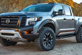 2018 Nissan Titan Warrior Concepts