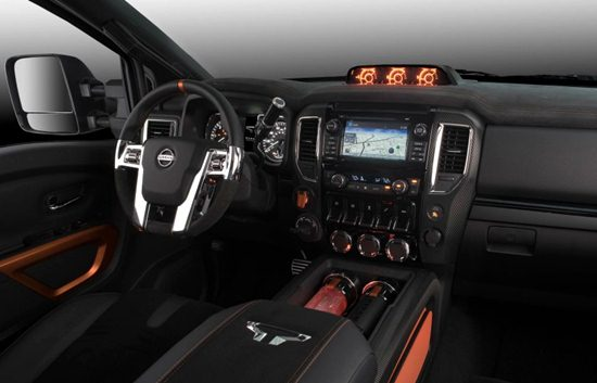 2018 Nissan Titan Warrior Interior