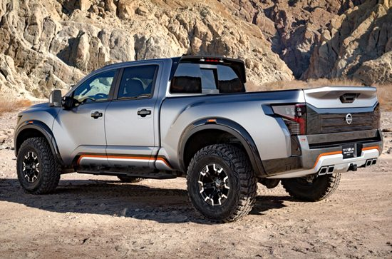 2018 Nissan Titan Warrior