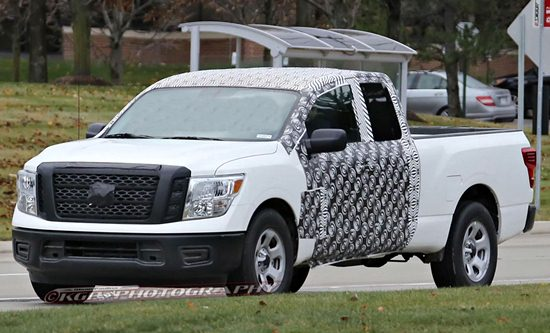 2018 Nissan Titan with EcoBoost V6 Engine