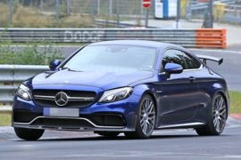 2019 Mercedes-AMG C63 R Coupe Spy Shots